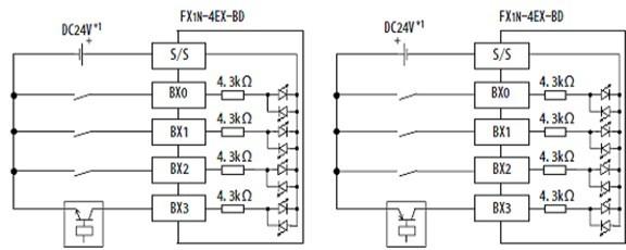 三菱plc扩展板(模块)fx1n-4ex-bd报价价格优惠