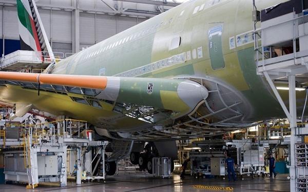 世界最大客运飞机a380制造现场