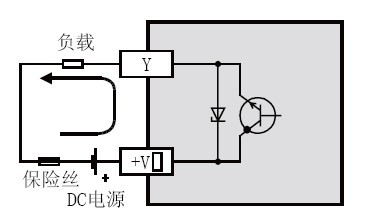 三菱PLC晶体管输出源型 PNP 与漏型 NPN 的解说