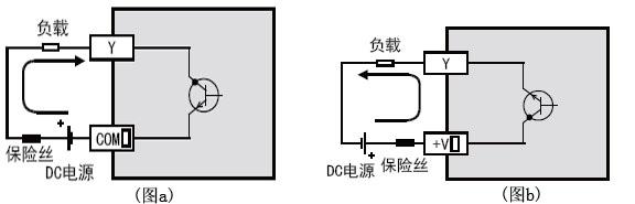 三菱PLC FX3uc系列的输出接线图分析
