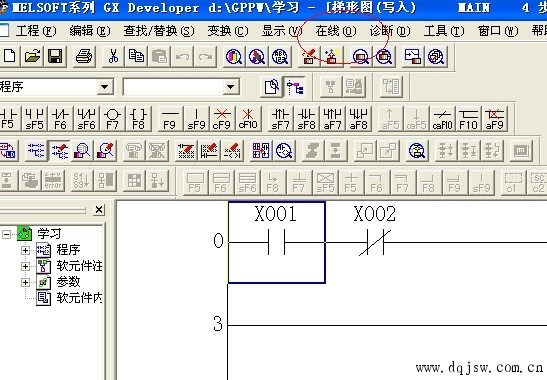 三菱plc与工控机通讯方法详细说明