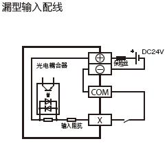 FX5UC-32MT/D输入电路图