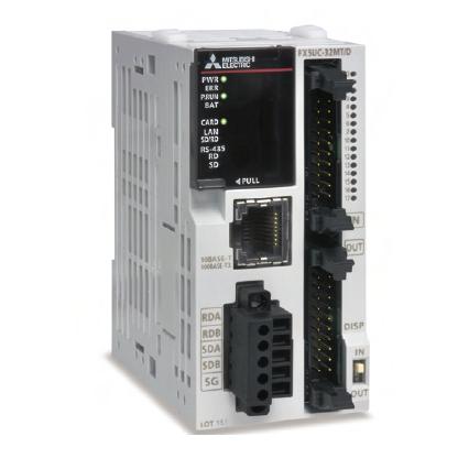 FX5UC-32MT/D 三菱PLC漏型输出16入/16出