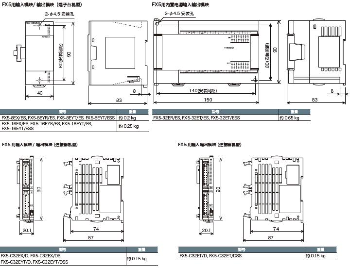 三菱plc fx5u系列plc /