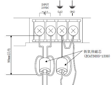 三菱触摸屏got 2000电源线/接地线的连接