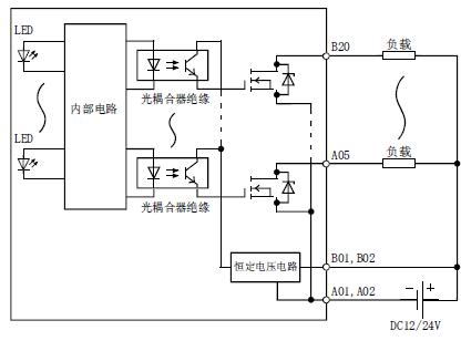 ly41nt1p-cm 三菱l plc晶体管漏型32点输出模块
