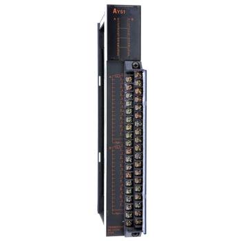 ay51是三菱a系列plc的32点晶体管输漏型出模块!