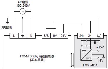 fx3g-485-bd接线