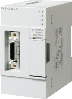 FX5-40SSC-S 三菱4轴简易运动控制器模块